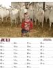 Stoere Boerenkinderenkalender juli 2013